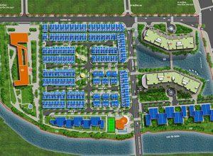 Mặt bằng tổng thể khu Jamona City