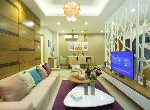 Nhà mẫu căn hộ Luxury Home quận 7.