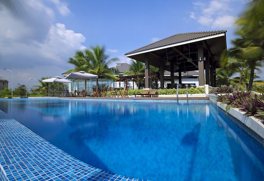 mot goc jamona home resort Sacomreal