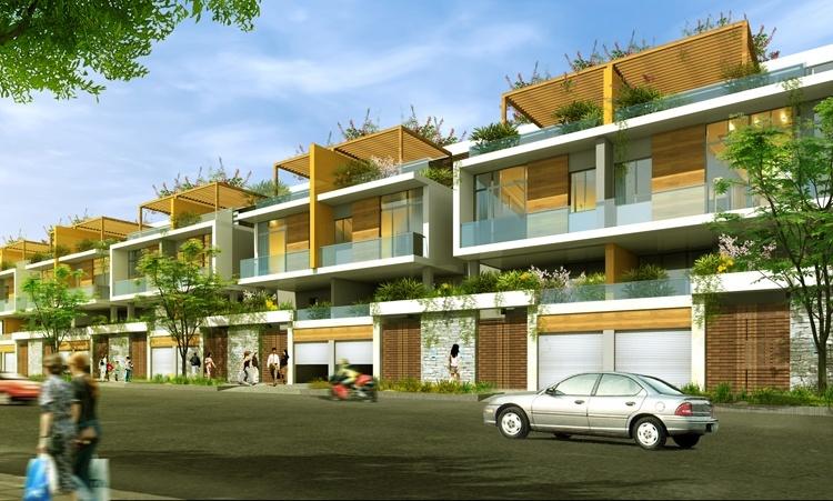 phoi canh khu pho jamona city