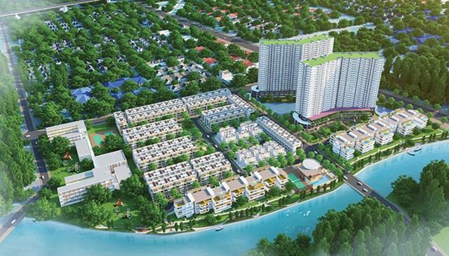 Phối cảnh dự án Jamona City, dự án trọng điểm của Sacomreal