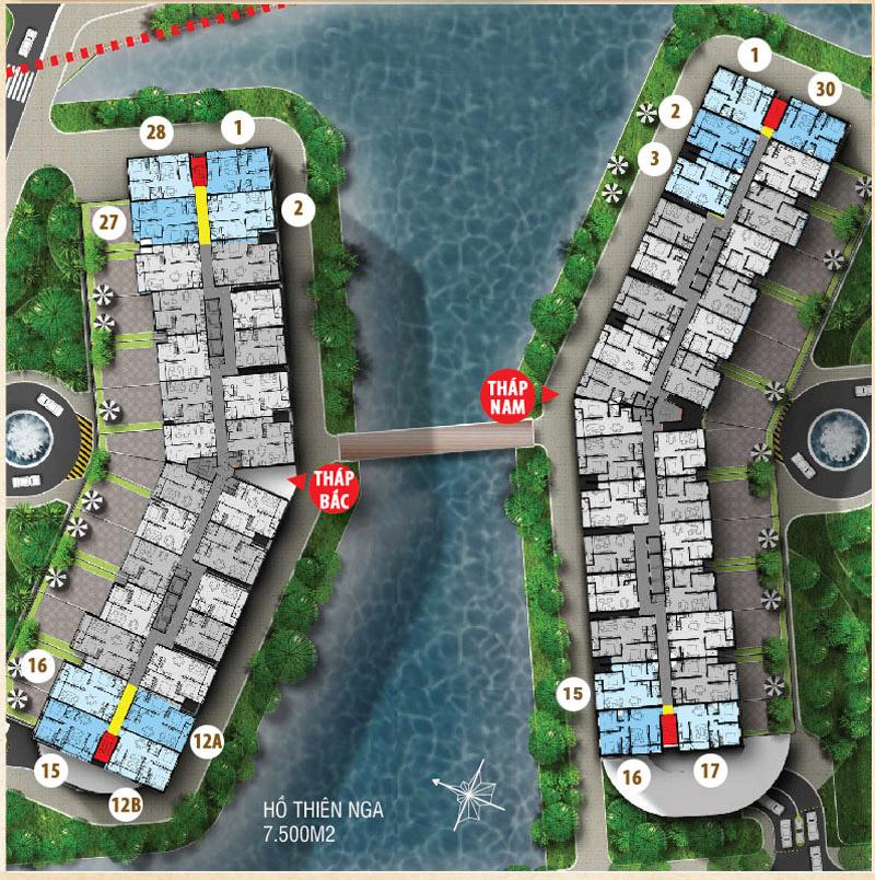 Dự án căn hộ Luxury Home - Jamona Apartment