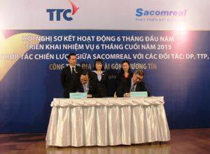 Sacomreal hợp tác chiến lược với DP, TTP, CBRE