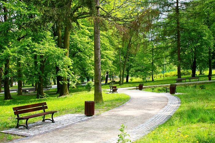 Công viên tại dự án Jamona Home Resort