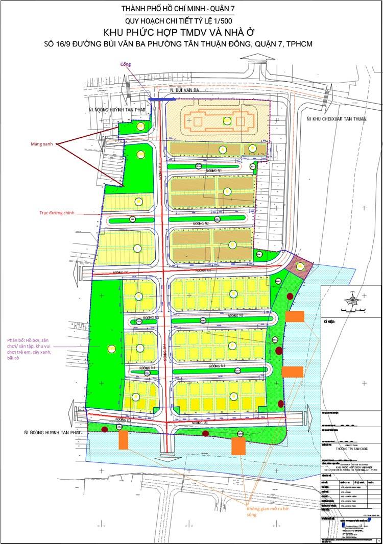 Quy hoạch chi tiết 1-500 dự án Jamona Riverside
