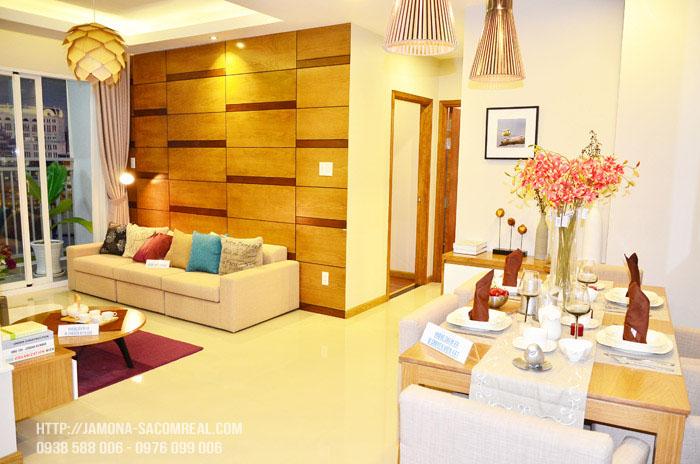 Phòng khách Jamona Apartment