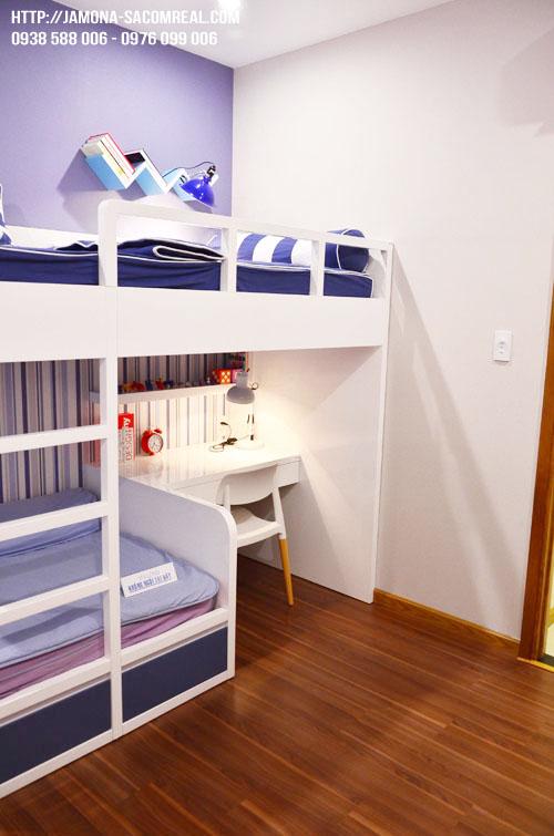 Phòng ngủ nhỏ.