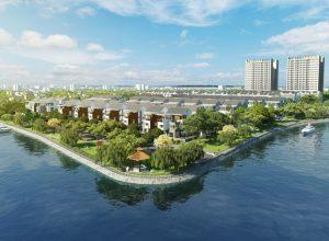 Jamona Golden Silk là dự án có lợi thế về không gian sống với 2 mặt giáp sông.