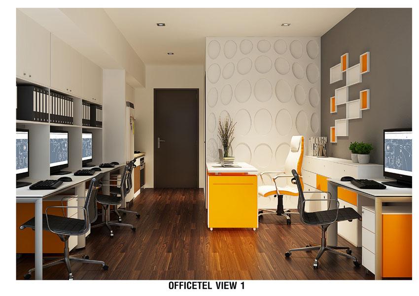 Ảnh phối cảnh căn hộ Officetel Charmington La Pointe
