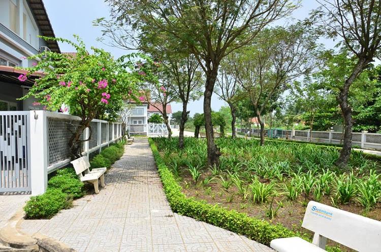 khuôn viên xanh, biệt thự The Pegasus Residence