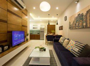 Thiết kế sinh động, hài hòa của căn hộ Jamona Apartment quận 7