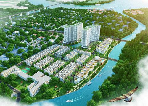 Thiết kế của Jamona Apartment trong tổng thể khu dân cư Jamona City