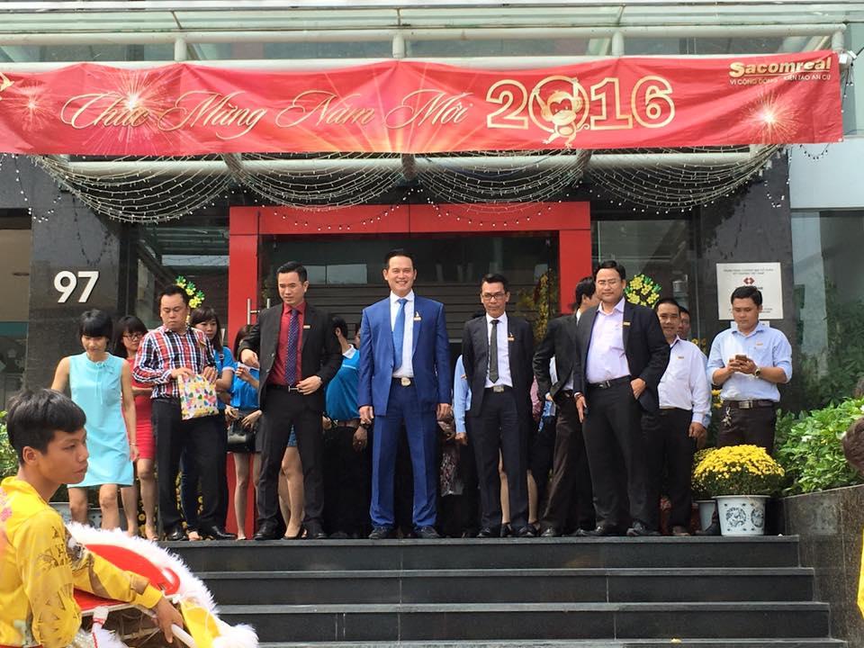 Địa ốc Sacomreal khai trương năm mới 2016