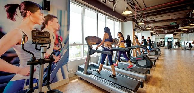 Phòng tập GYM trong dự án Hà Đô 756 Sài Gòn
