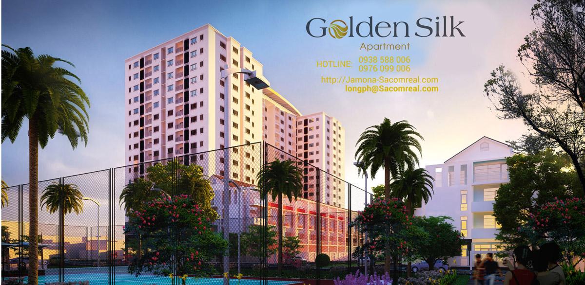 Phối cảnh dự án Golden Silk Apartment quận 7