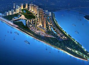 Dự án Saigon Peninsula với quy mô 118 hecta.