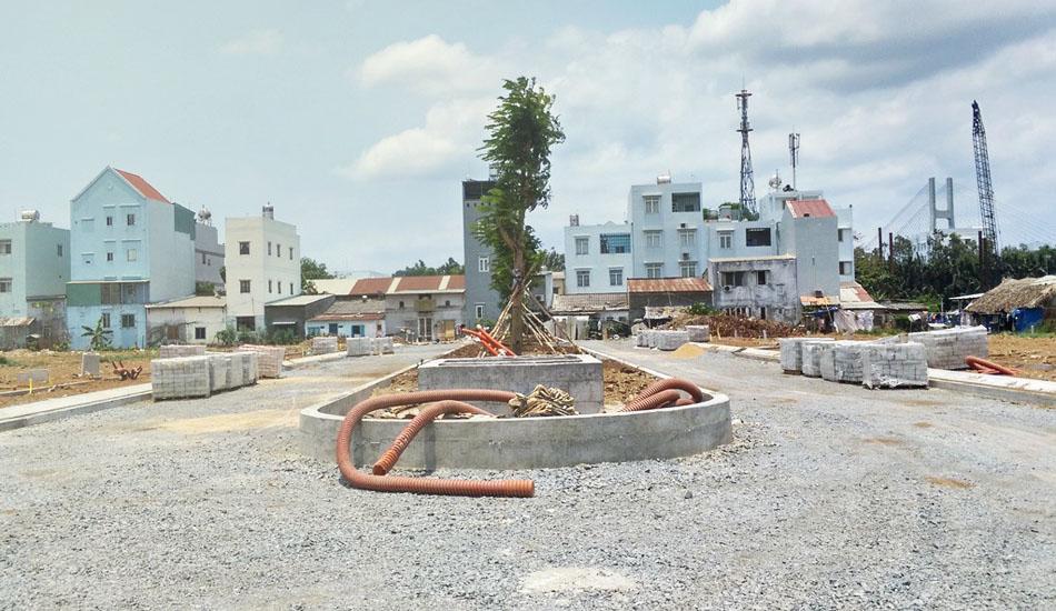 Đường giao thông trong dự án Jamona Golden Silk quận 7