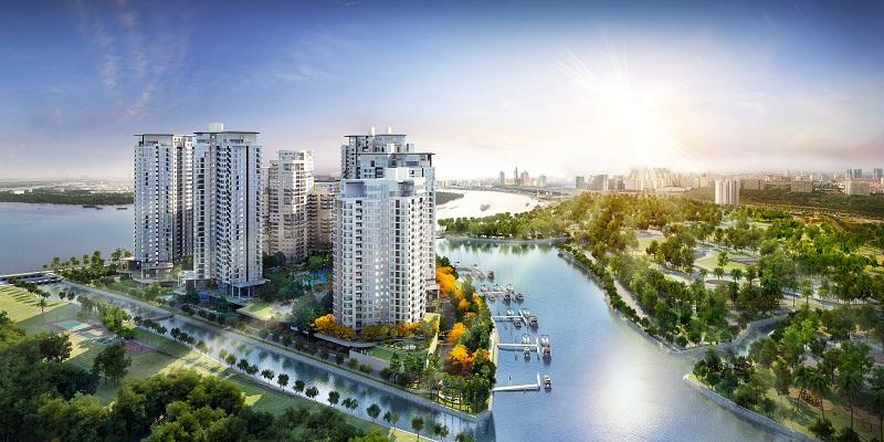 Dự án Đảo Kim Cương - Diamond Island quận 2 (phối cảnh).