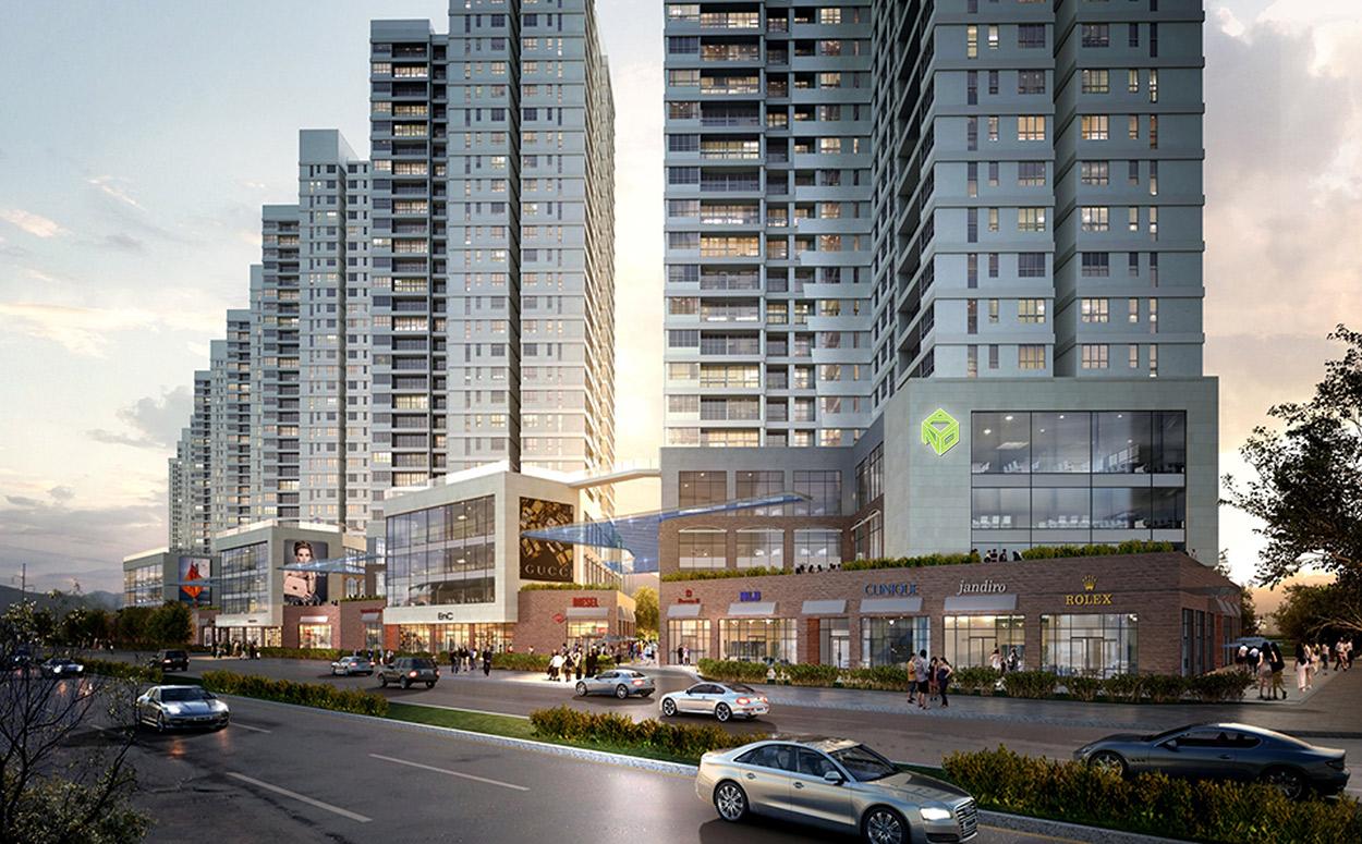 Một dự án của Novaland tại khu Đông Sài Gòn.