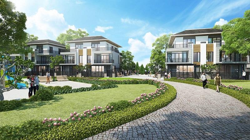 Phối cảnh biệt thự tại dự án Lavila nam Sài Gòn.