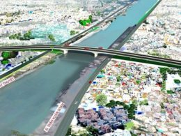 Cầu vượt Kênh Tẻ hình thành sẽ mang lại giá trị hạ tầng lớn cho khu vực.