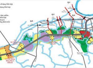 Giá trị bất động sản Nam Sài Gòn trong tương lai là rất lớn khi thành phố quy hoạch nhiều dự án hạ tầng chiến lược.