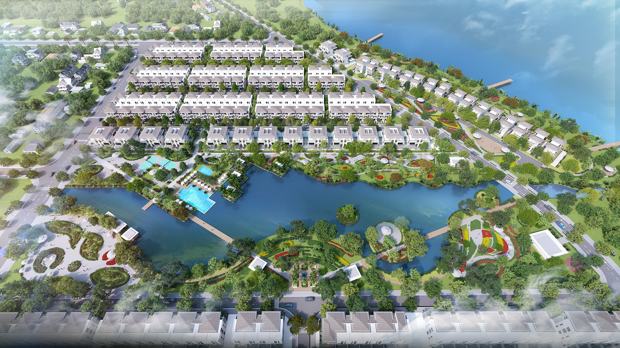 Thiết kế dự án Lavila ưu tiến đến cảnh quan, không gian chung, các giá trị tiện ích cho cư dân của mình.