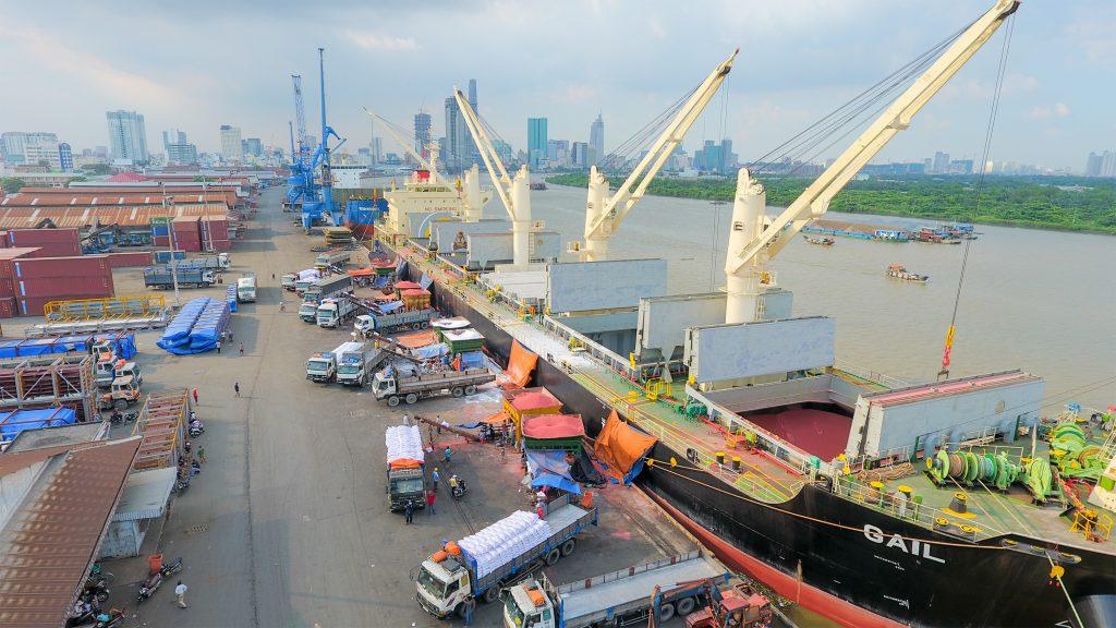 Khu cảng Sài Gòn, nơi sẽ làm dự án khu phức hợp Nhà Rồng Khánh Hội quận 4 (vinhomes).
