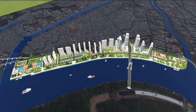 Phác thảo mặt bằng dự án khu phức hợp Nhà Rồng - Khánh Hội, (Vinhomes Khánh Hội).