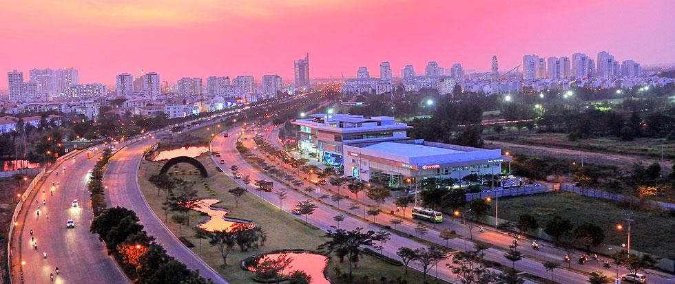 Khu Nam Sài Gòn được thành phố chủ trương quy hoạch chiến lược trong thời gian tới.