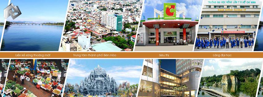 Tiện ích dự án Long Hưng Dreamland City Biên Hòa.