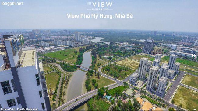 Căn hộ The View, view nhìn Phú Mỹ Hưng, Nhà Bè.