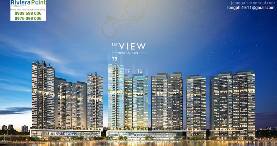 Dự án căn hộ The View - Riviera Point.