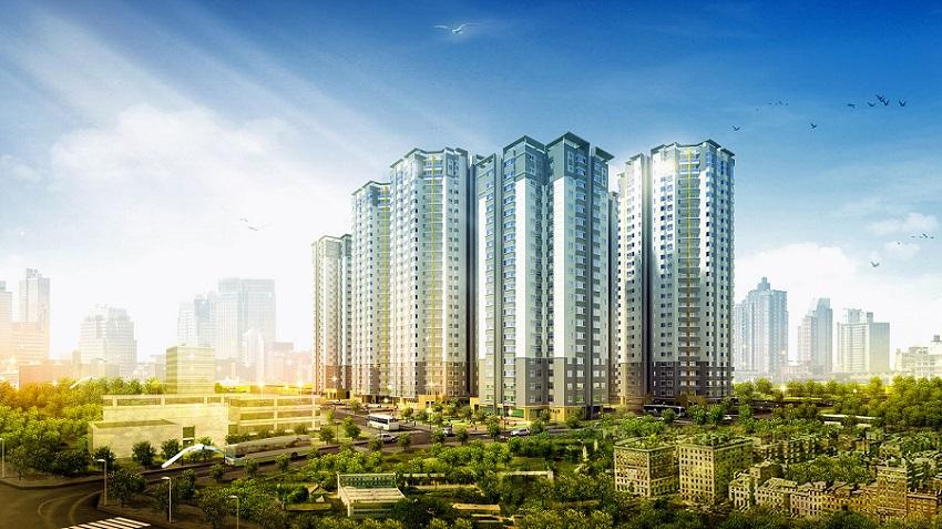 Dự án căn hộ có nhu cầu thực vẫn rất thu hút nhu cầu thị trường.