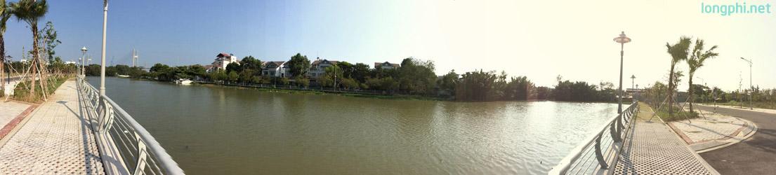 Không gian sống trong lành với 2 mặt giáp sông là điểm mạnh chỉ duy nhất tại Jamona Golden Silk quận 7.