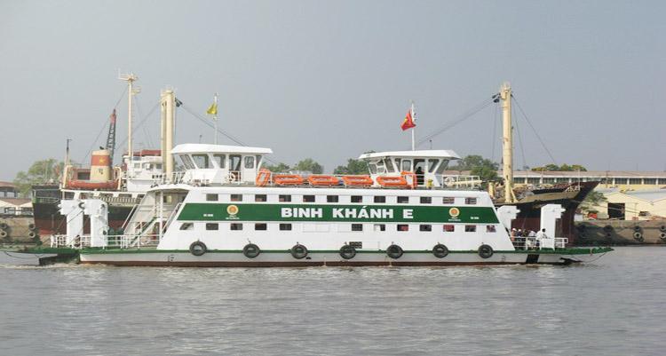 Phà Bình Khánh đi Cần Giờ.