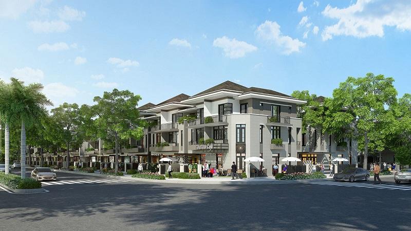 Phối cảnh nội khu dự án Lavila Kiến Á tại nhà Bè.
