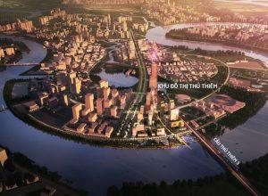 Cầu Thủ Thiêm 4 là dự án mang tính chiến lược kết nối Thủ Thiêm và Nam Sài Gòn.