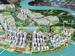 Cầu Thủ Thiêm 4 kết nối quận 2 và quận 7 với mức đầu tư hơn 5200 tỷ đồng.