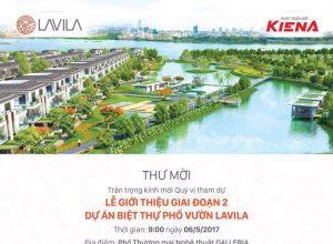 Sự kiện chính thức giới thiệu dự án Lavila giai đoạn 2 ngày 6/5/2017.