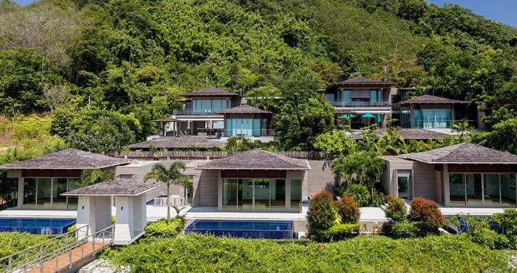 Biệt thự biển tại một dự án tại Phuket Thailand có giá bình quân khoảng 2.5 - 3.7 triệu USD.