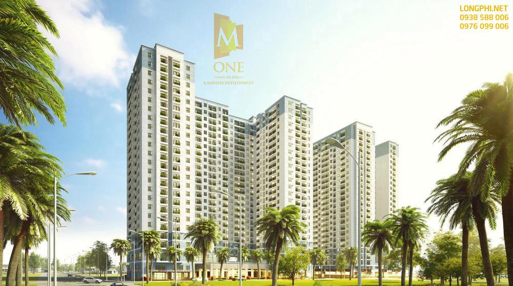 Phối cảnh tổng thể căn hộ M-One q7.