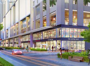 Phối cảnh Shophouse M-one tại tầng trệt tòa nhà (ảnh mang tính minh họa).