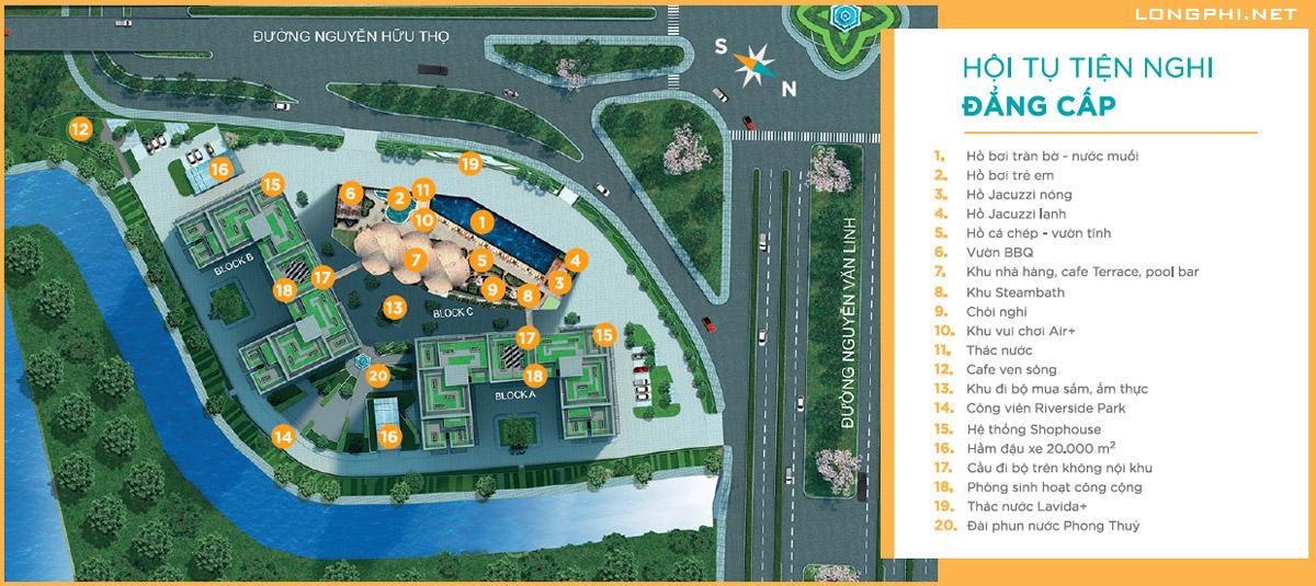 Tiện ích dự án Lavida Plus quận 7.