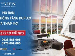 Bán căn hộ tháp 8 The View Riviera Point quận 7: 2, 3 phòng ngủ, duplex thông tầng.