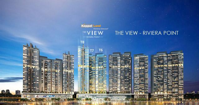 Phối cảnh căn hộ The View quận 7 - dự án Riviera Point - Keppel Land.