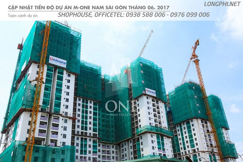 Tiến độ dự án M-One Nam Sài Gòn đang hoàn thiện và sẽ sớm bàn giao thời gian tới.