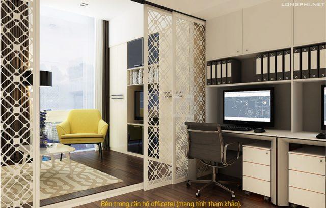 Officetel là loại căn hộ đa năng vừa làm văn phòng vừa làm nơi ở.
