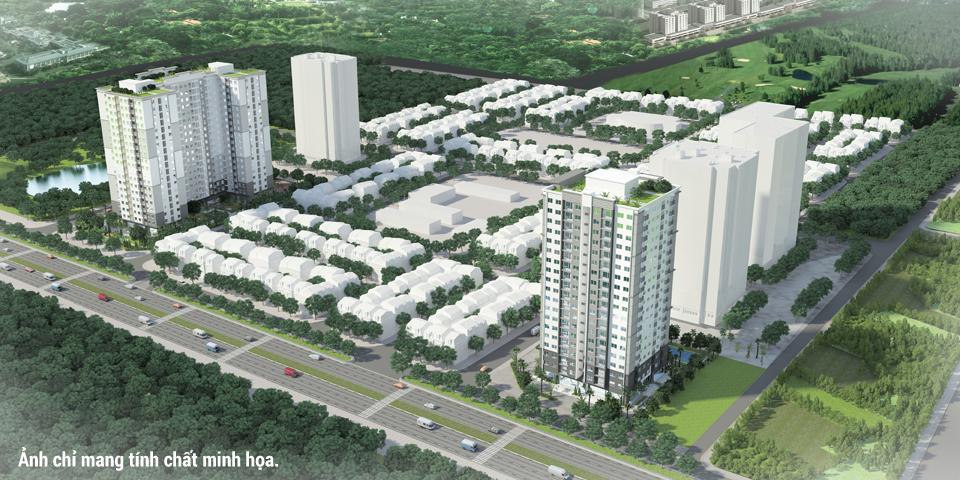 Dự án căn hộ ADI Lucky Home quận Bình Tân, ảnh minh họa.