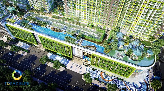 Tiện ích tại căn hộ Topaz Elite quận 8 được đầu tư bài bản, tư vấn thiết kế bởi các đơn vị Quốc tế lớn.